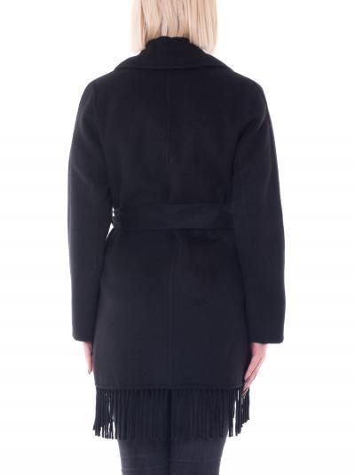 KAOS kaos cappotto con frange  Cappotti | NI1NT0120001