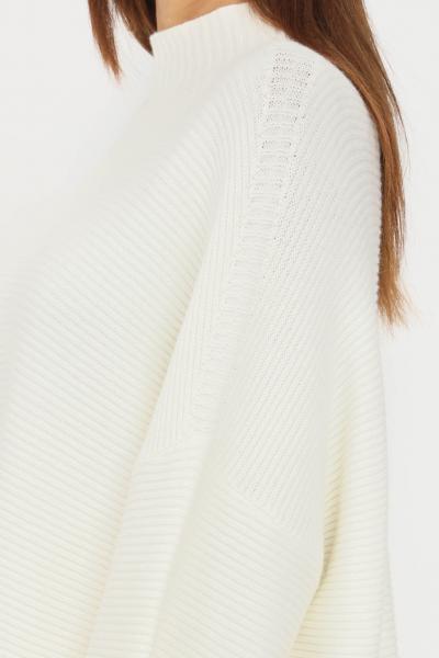 KONTATTO Maglioncino donna panna kontatto modello over  T-shirt | 3M8333PANNA