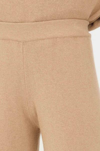 KONTATTO Pantaloni donna orzo kontatto a vita alta  Pantaloni | 3M8360ORZO