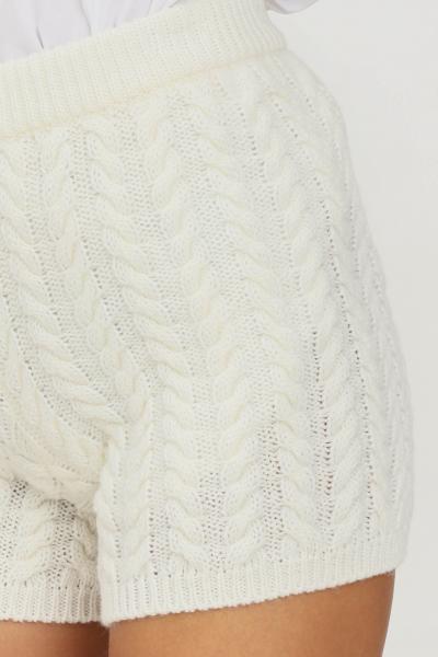 KONTATTO Shorts donna latte kontatto modello casual  Shorts | 3M8382LATTE