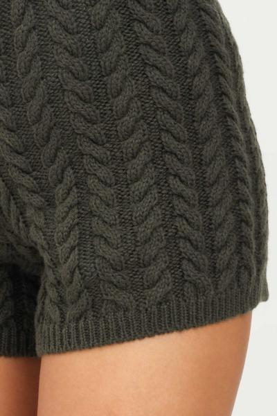 KONTATTO Shorts donna verde kontatto modello casual  Shorts | 3M8382MUSCHIO
