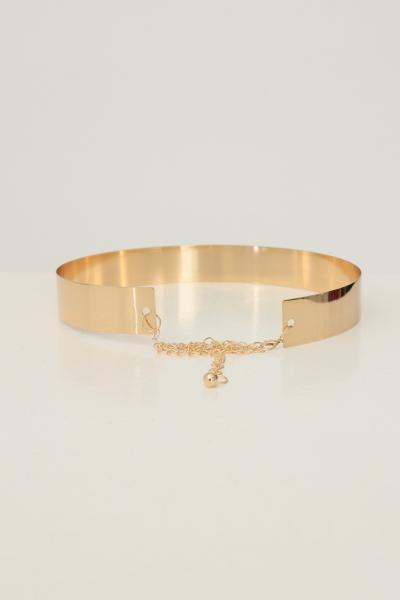 KONTATTO Cintura donna oro kontatto modello rigido  Cinture | CV304ORO