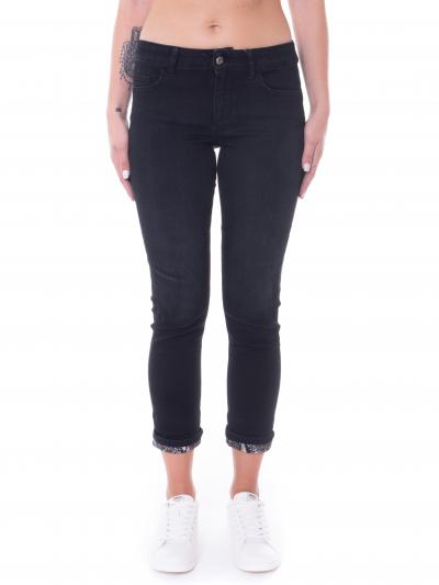 Jeans donna nero   Jeans | UF1006D461488206