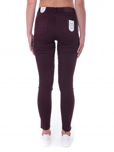 Jeans donna bordeaux  Jeans | WF1223T7144X0201