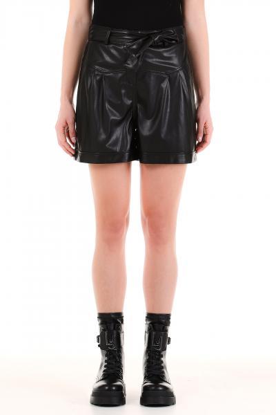 LIU JO liu jo pantalone short spalmato  Shorts   WF1491E039222222