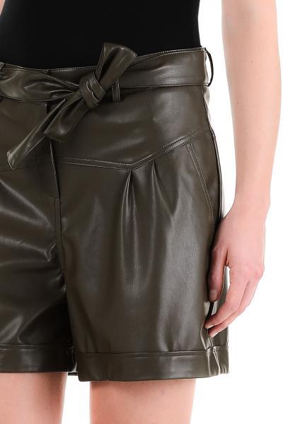 LIU JO liu jo pantalone short spalmato  Shorts   WF1491E0392X0397