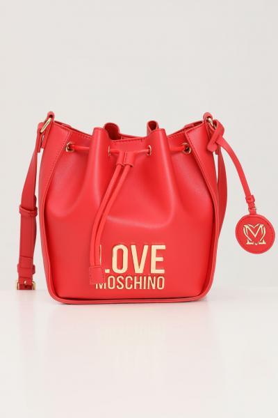 LOVE MOSCHINO Borsa donna rosso love moschino con tracolla regolabile  Borse | JC4103PP1D-LJ050A