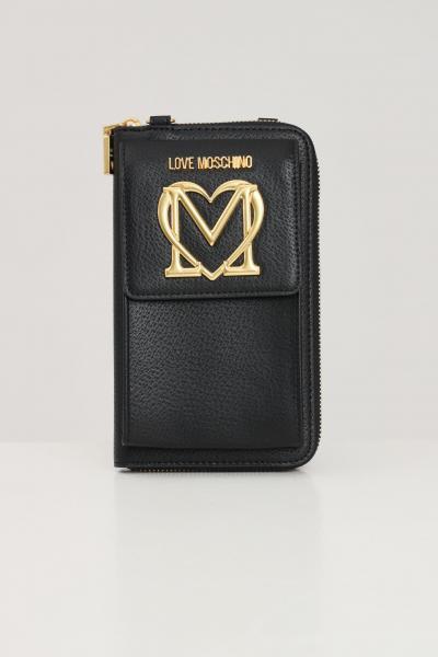 LOVE MOSCHINO Borsa donna love moschino con applicazione taschino  Borse | JC5651PP1D-LL0000