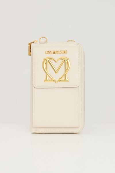 LOVE MOSCHINO Borsa donna cipria love moschino con applicazione taschino  Borse | JC5651PP1D-LL0110
