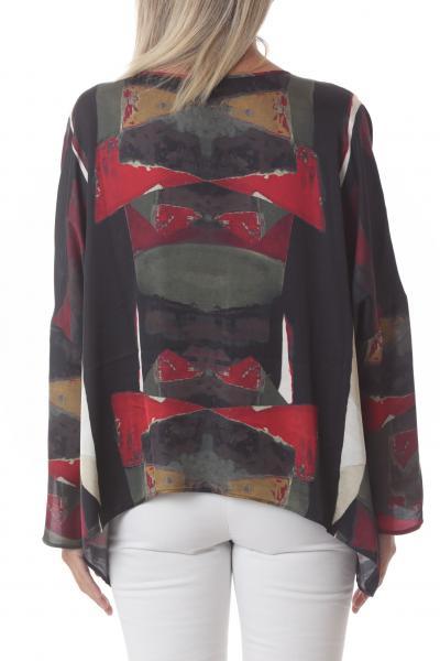 MANILA GRACE manila grace blusa stampata  Bluse | C213VSMA144