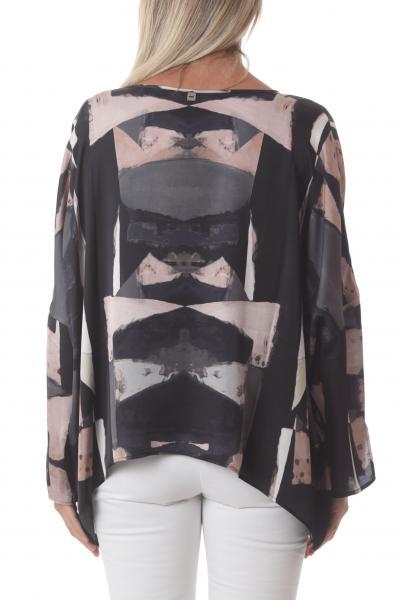 MANILA GRACE manila grace blusa stampata  Bluse | C213VSMA146