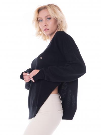 MANILA GRACE manila grace maglia scollo barca  T-shirt | M375WUMA001