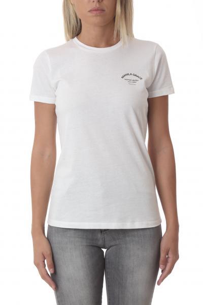 MANILA GRACE manila grace t-shirt  T-shirt | T349CUMA043