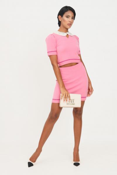 MATILDE COUTURE Gonna rosa donna matilde couture con elastico in vita  Gonne | MATISSE.ROSA