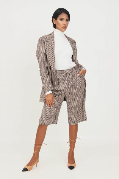MATILDE COUTURE Pantaloni fantasia donna matilde couture con taglio corto  Pantaloni | POPVICHY.MORO