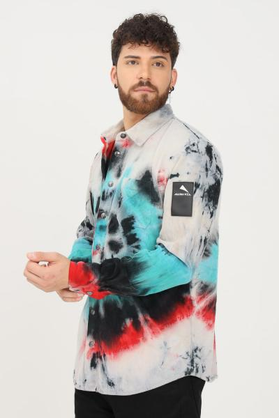 MAUNA-KEA Camicia uomo multicolor mauna kea modello casual  Camicie | MKE137_C2629GALAXYVELVET