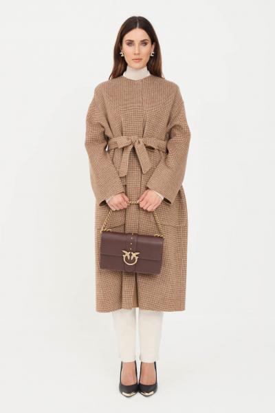 Cappotto donna cammello   Cappotti | 60160419600008