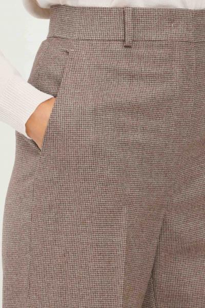 MAX MARA Pantaloni donna cammello max mara elegante con trama allover  Pantaloni | 61360213600025