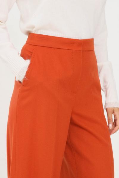 MAX MARA Pantaloni donna terracotta max mara elegante  Pantaloni | 61360613600006