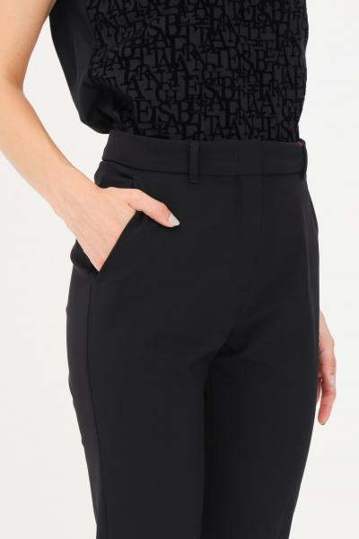 Pantaloni donna nero casual slim fit  Pantaloni | 61361019600003