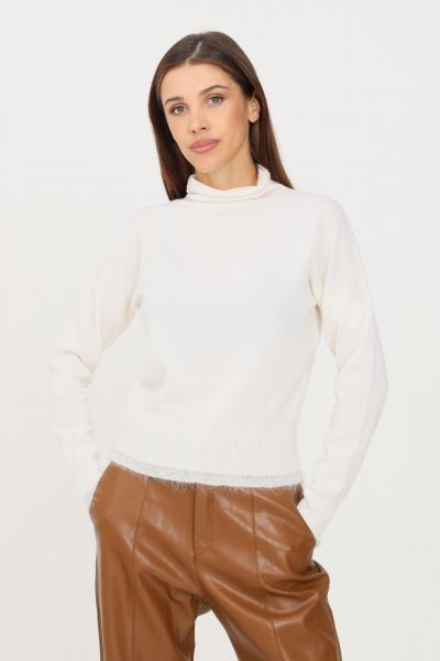 MAX MARA Maglioncino donna panna max mara a mezzo collo  T-shirt | 63660713600001