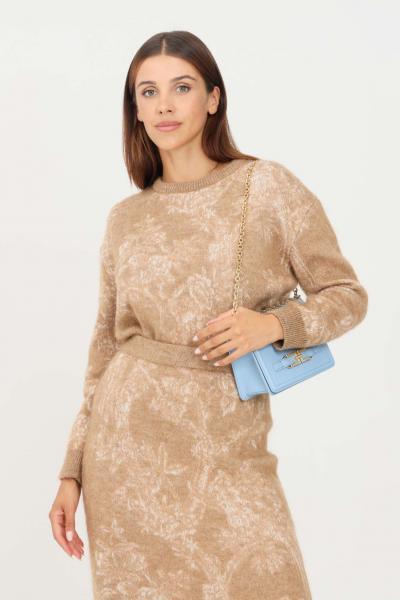 MAX MARA Maglioncino donna cammello max mara a girocollo  T-shirt | 63661713600005