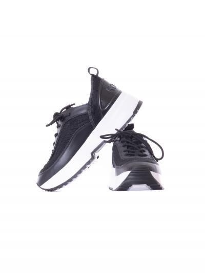 Sneakers donna di colore nero.  scarpe | 43T1CHFS1D001