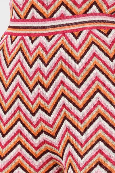 MISSONI Pantaloni donna multicolor missoni elegante con stampa geometrica  Pantaloni | 2DI00338L303F