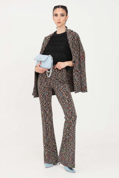 MISSONI Pantaloni donna multicolor missoni elegante modello a zampa  Pantaloni | 2DI00352F901K
