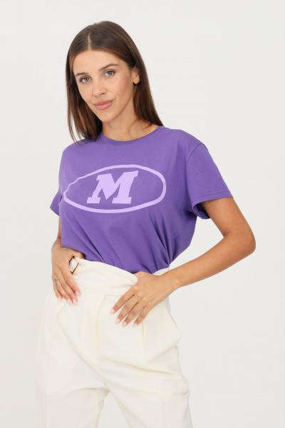 MISSONI T-shirt donna lavanda missoni a manica corta con M frontale  T-shirt | 2DL0010793642