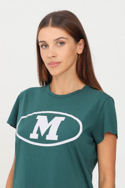 MISSONI T-shirt donna verde scuro missoni a manica corta con M frontale  T-shirt | 2DL0010795320