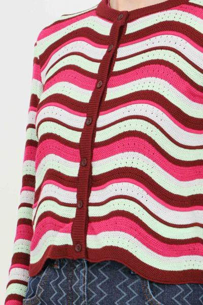 MISSONI Cardigan donna multicolor missoni chiusura con bottoncini  T-shirt | 2DM00171S308U