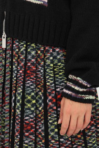 MISSONI Cardigan donna nero missoni con zip  Cardigan | 2DM00176S90KM