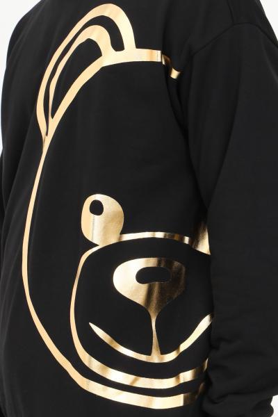 Felpa uomo nero con maxi stampa oro  T-shirt   A170981130555