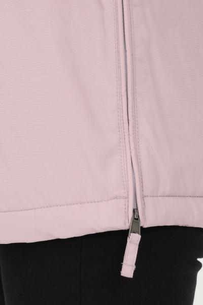NAPAPIJRI Giubbotto donna rosa napapijri con cappuccio e patch logo frontale  Giubbotti | NP0A4EH3P6I1P6I1