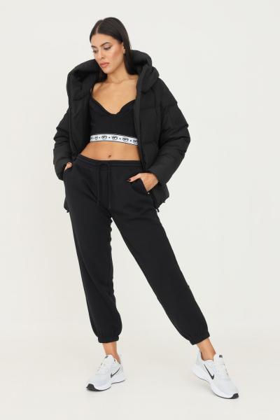 NAPAPIJRI Pantaloni donna nero napapijri casual con ricamo logo a contrasto sul retro  Pantaloni | NP0A4F8I0411041