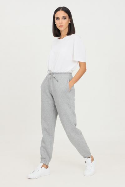 Pantaloni donna grigio casual con elastico in vita  Pantaloni | NP0A4F8I16011601