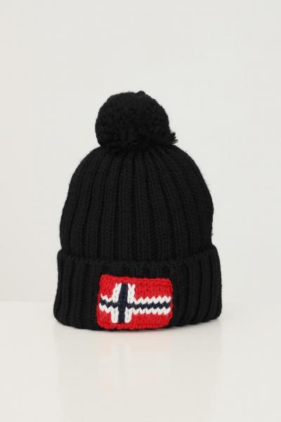 Cappello unisex nero con ricamo logo frontale  Cappelli | NP0A4FRT04110411