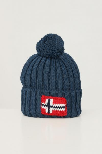 NAPAPIJRI Cappello unisex azzurro napapijri con ricamo logo frontale  Cappelli | NP0A4FRTBB81BB81