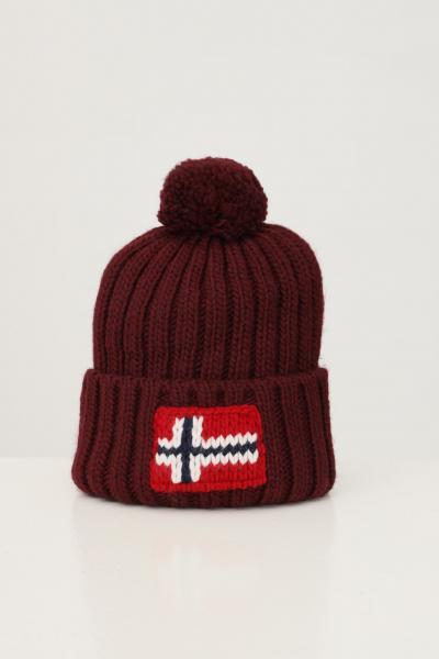 NAPAPIJRI Cappello unisex bordeaux napapijri con ricamo logo frontale  Cappelli | NP0A4FRTR541R541