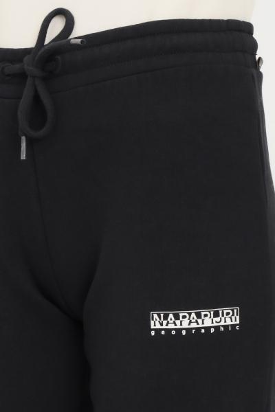 NAPAPIJRI Pantaloni donna nero napapijri casual con elastico in vita  Pantaloni | NP0A4FV504110411