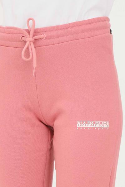NAPAPIJRI Pantaloni donna rosa napapijri modello casual con elastico in vita  Pantaloni | NP0A4FV5PB11PB11