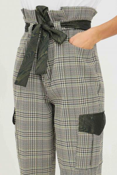 NBTS Pantaloni verde donna NBTS con cintura in vita  Pantaloni | NB2122006.