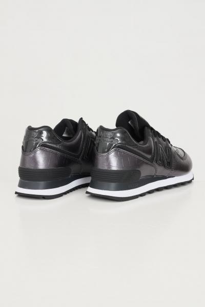NEW BALANCE Sneakers wl574 da donna nero lucido new balance  Sneakers   WL574PW2BLACK