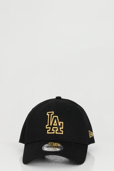 NEW ERA Cappello unisex nero New Era in cotone con ricamo frontale  Cappelli | 60112672.