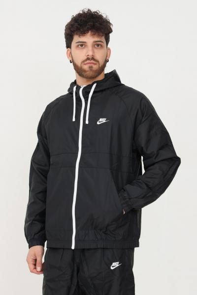 NIKE Tuta uomo nero nike sport felpa con zip e cappuccio e pantaloni con elastico in vita  Tute | BV3025010
