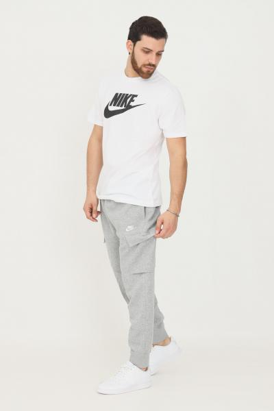 NIKE Pantaloni cargo club fleece uomo grigio nike sport  Pantaloni | CD3129063