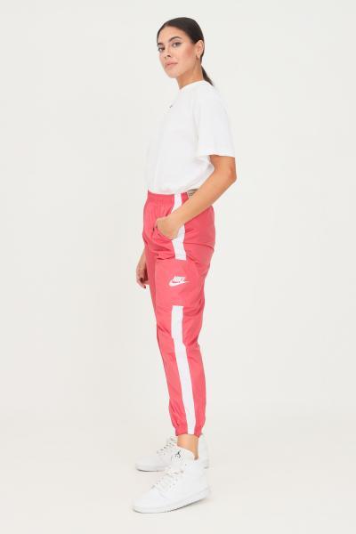 NIKE Pantaloni da donna rosa nike casual con elastico in vita  Pantaloni | CJ7346622