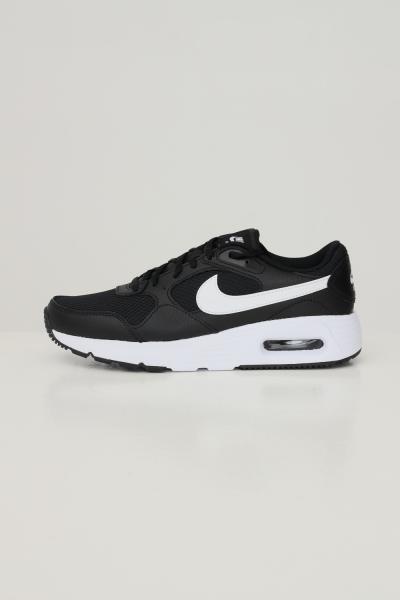 NIKE Sneakers air max sc donna nero nike con logo a contrasto  Sneakers   CW4554001