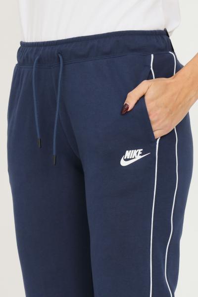 NIKE Pantaloni donna blu nike sport con elastico in vita  Pantaloni | CZ8340410